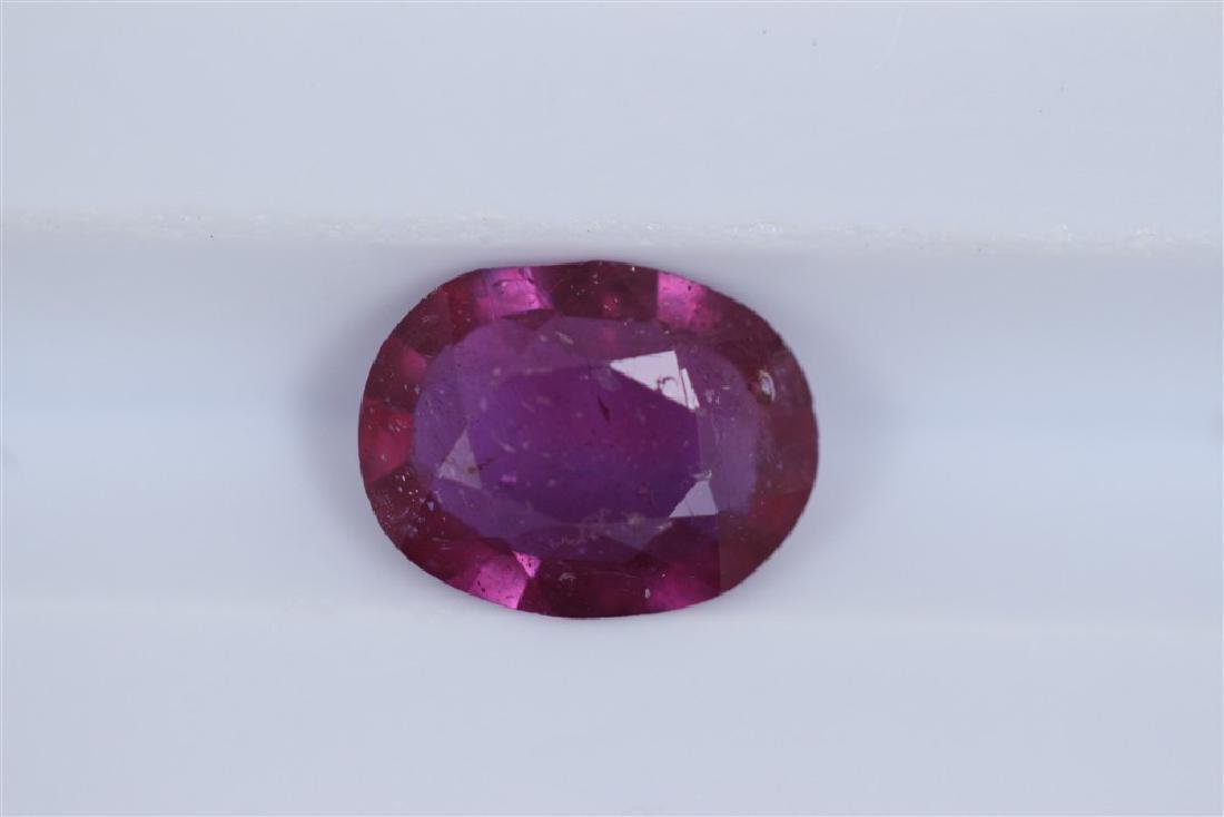 1.72ct Ruby Oval cut