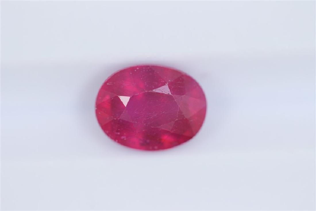 2.33ct Ruby Oval cut
