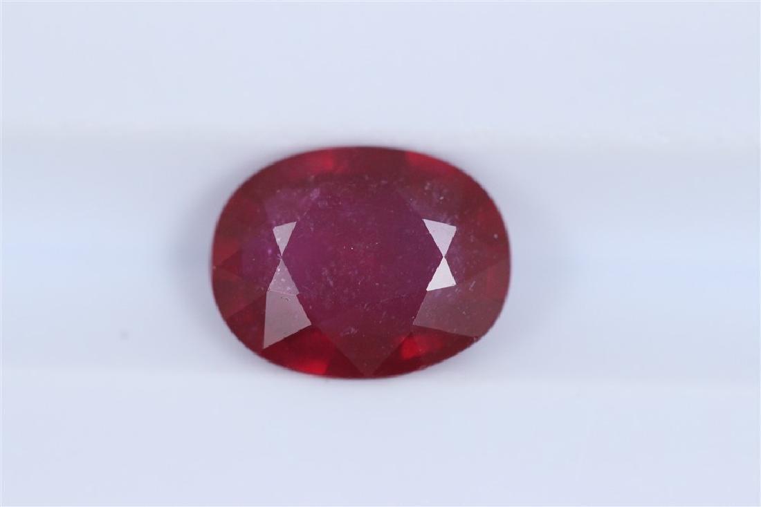 2.35ct Ruby Oval cut