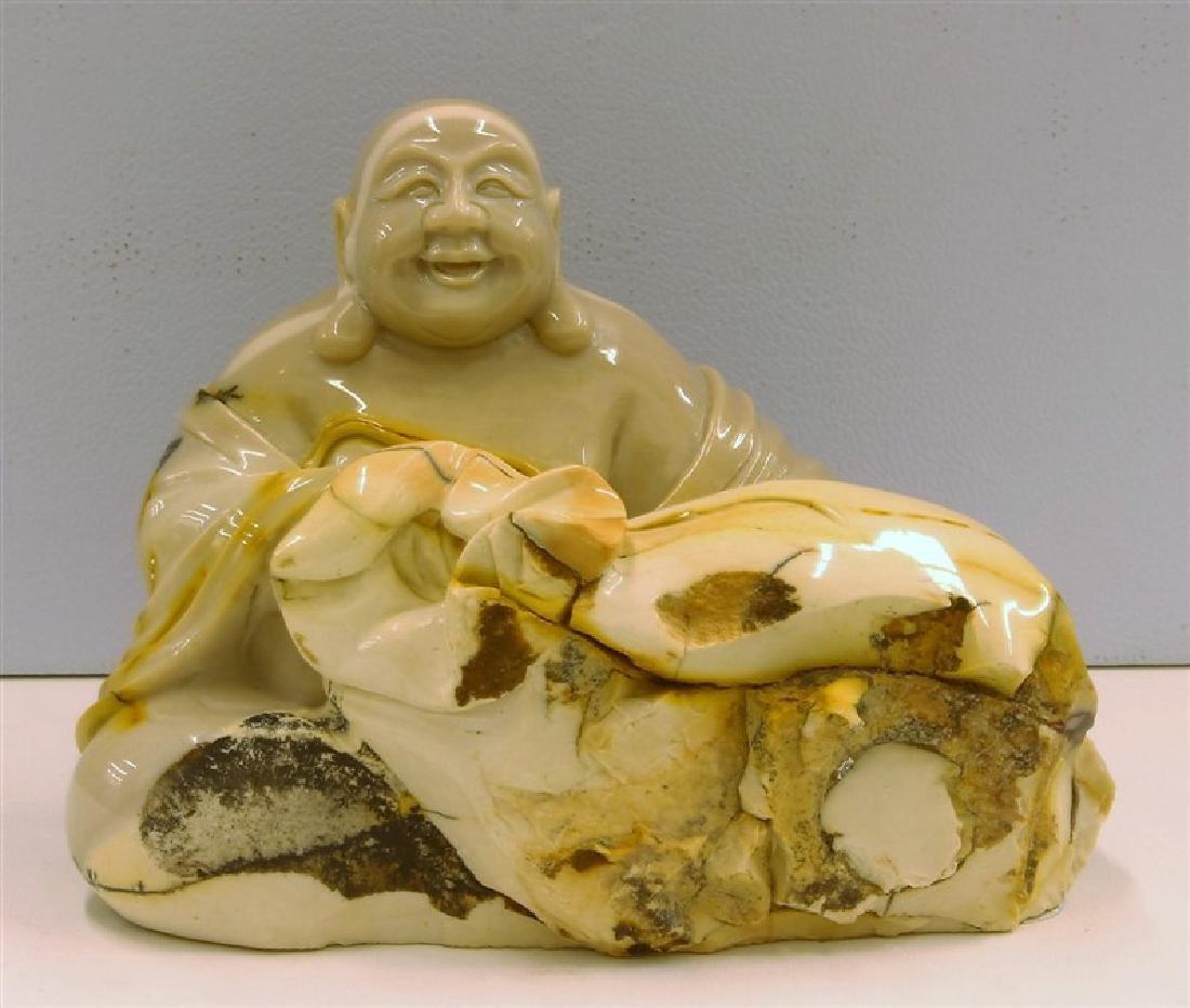 Mookite Jasper Buddha