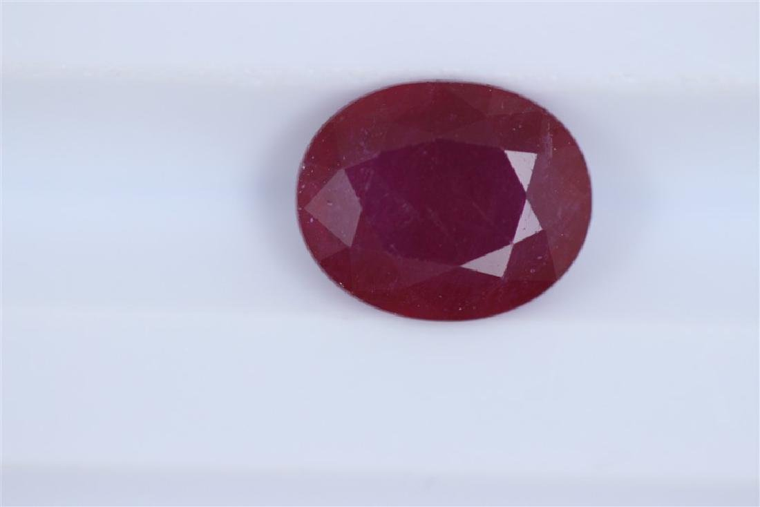 2.15ct Ruby Oval cut