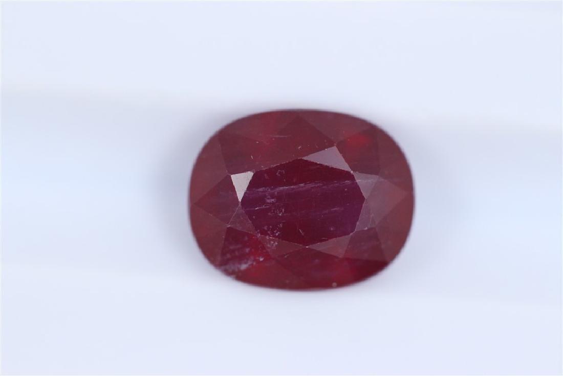 3.49ct Ruby Oval cut