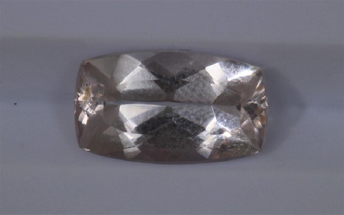 2.05ct Morganite 1pcs Emerald cut