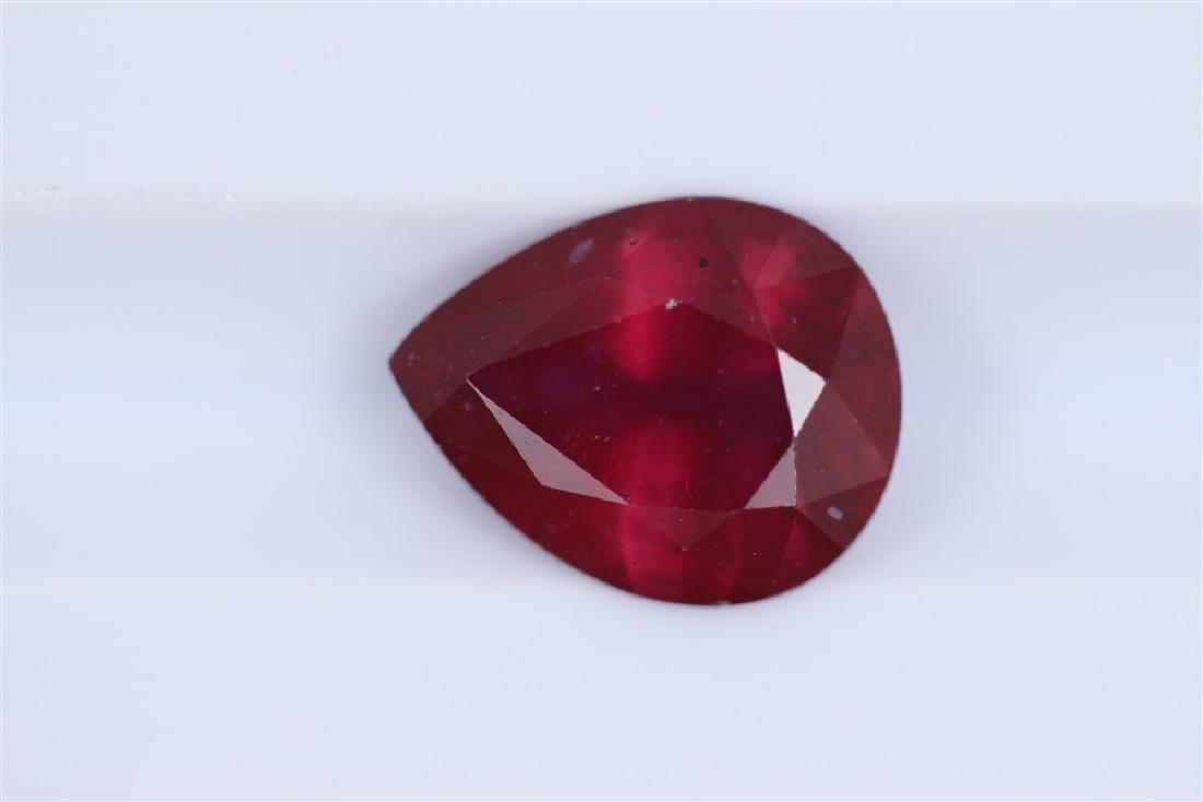 2.81ct Ruby Oval cut