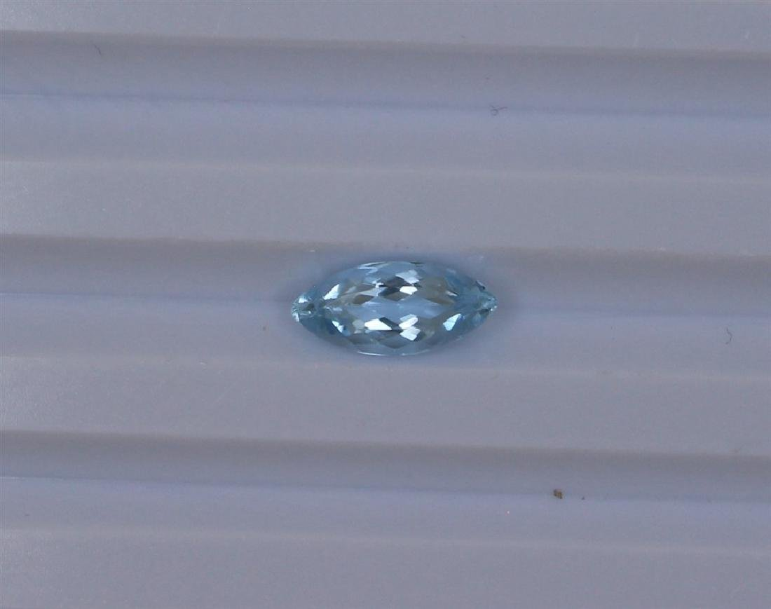 1.92ct Natural Aquamarine Marquise cut