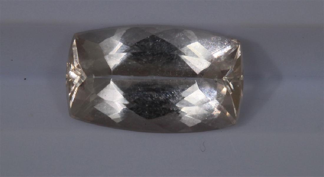2.69ct Morganite 1pcs Emerald cut