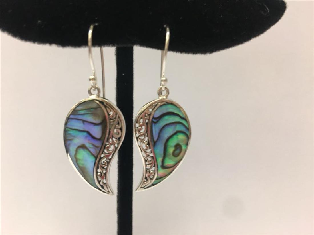Sterling Silver Shell Earring