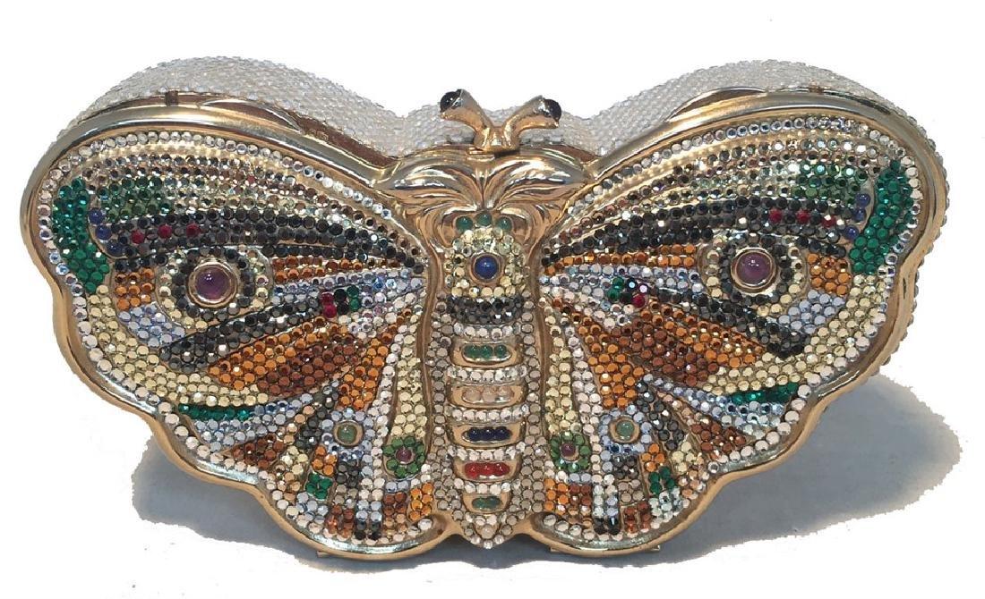Judith Leiber Vintage Swarovski Crystal Butterfly