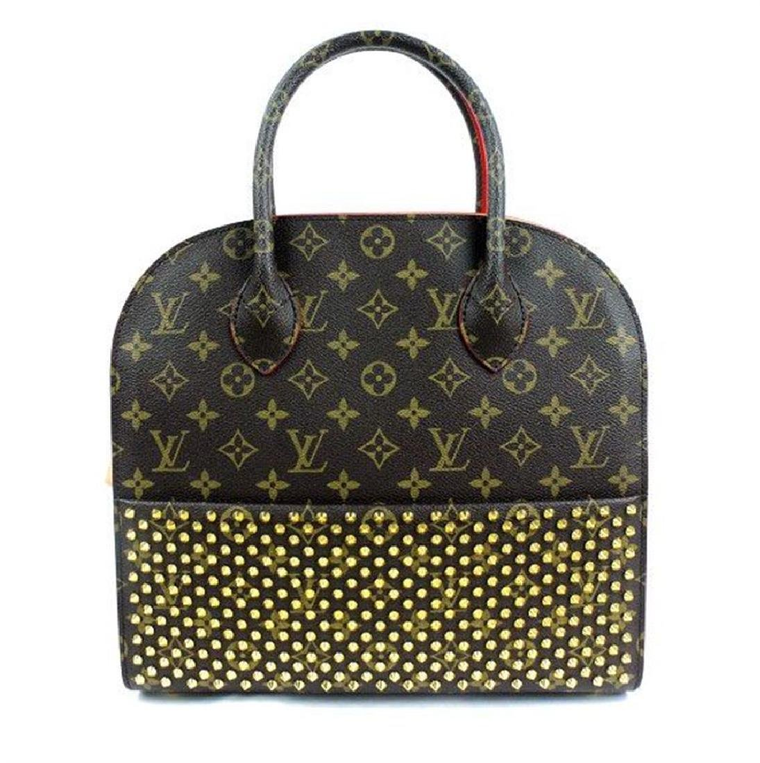 Louis Vuitton x Christian Louboutin Brown Red