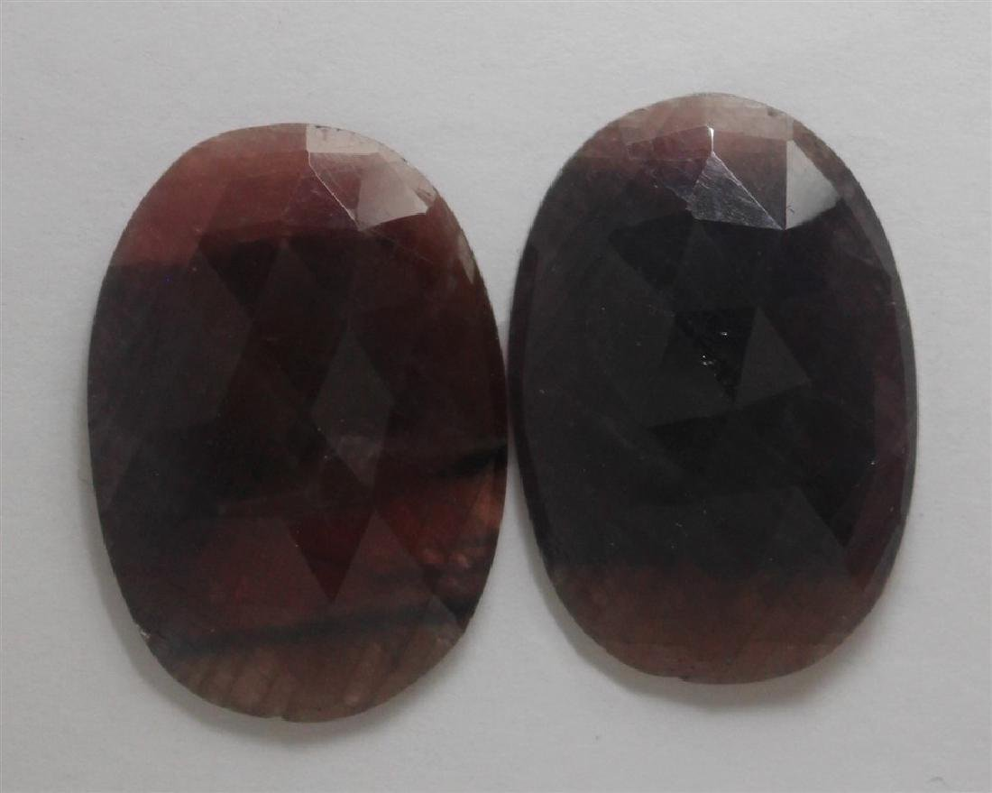 52.93ct GIA Approved Ruby sapphire slice Oval cut
