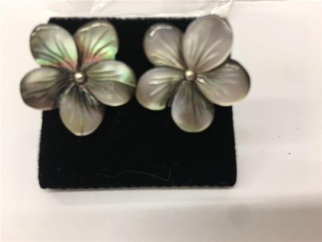.925 Sterling Silver Earring 2.0g