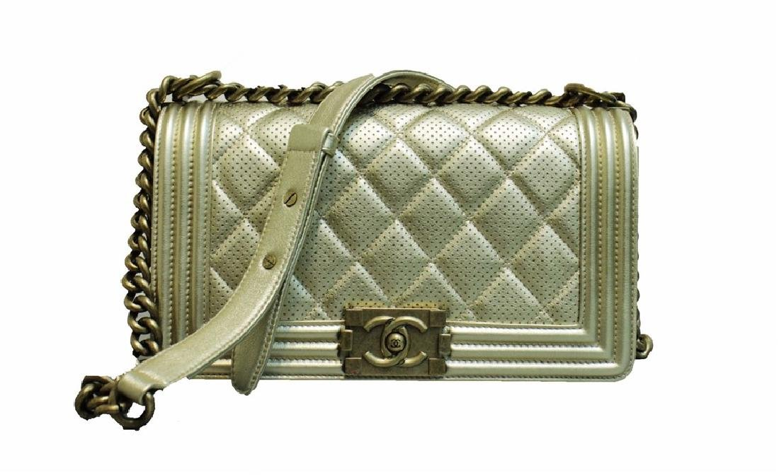 chanel boy medium gold hardware