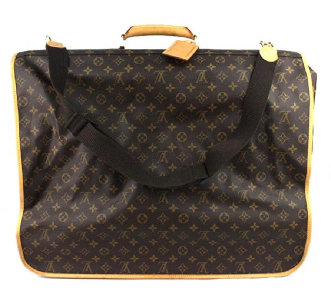 LOUIS VUITTON Monogram 3 Hanger Garment Bag