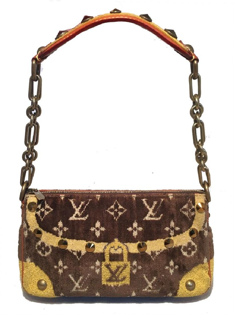 Limited Edition LOUIS VUITTON Monogram Velvet Trompe L