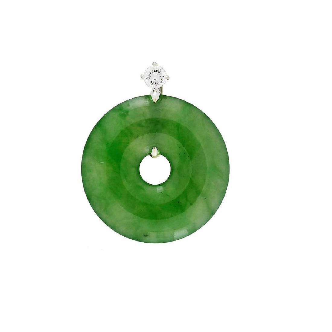 GIA 24.08ct Natural Burma Jadeite Jade Type A