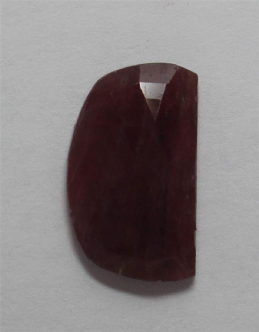 12.67ct GIA Approved Ruby Slice Fancy cut