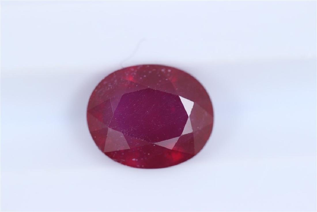 2.68ct Ruby Oval cut