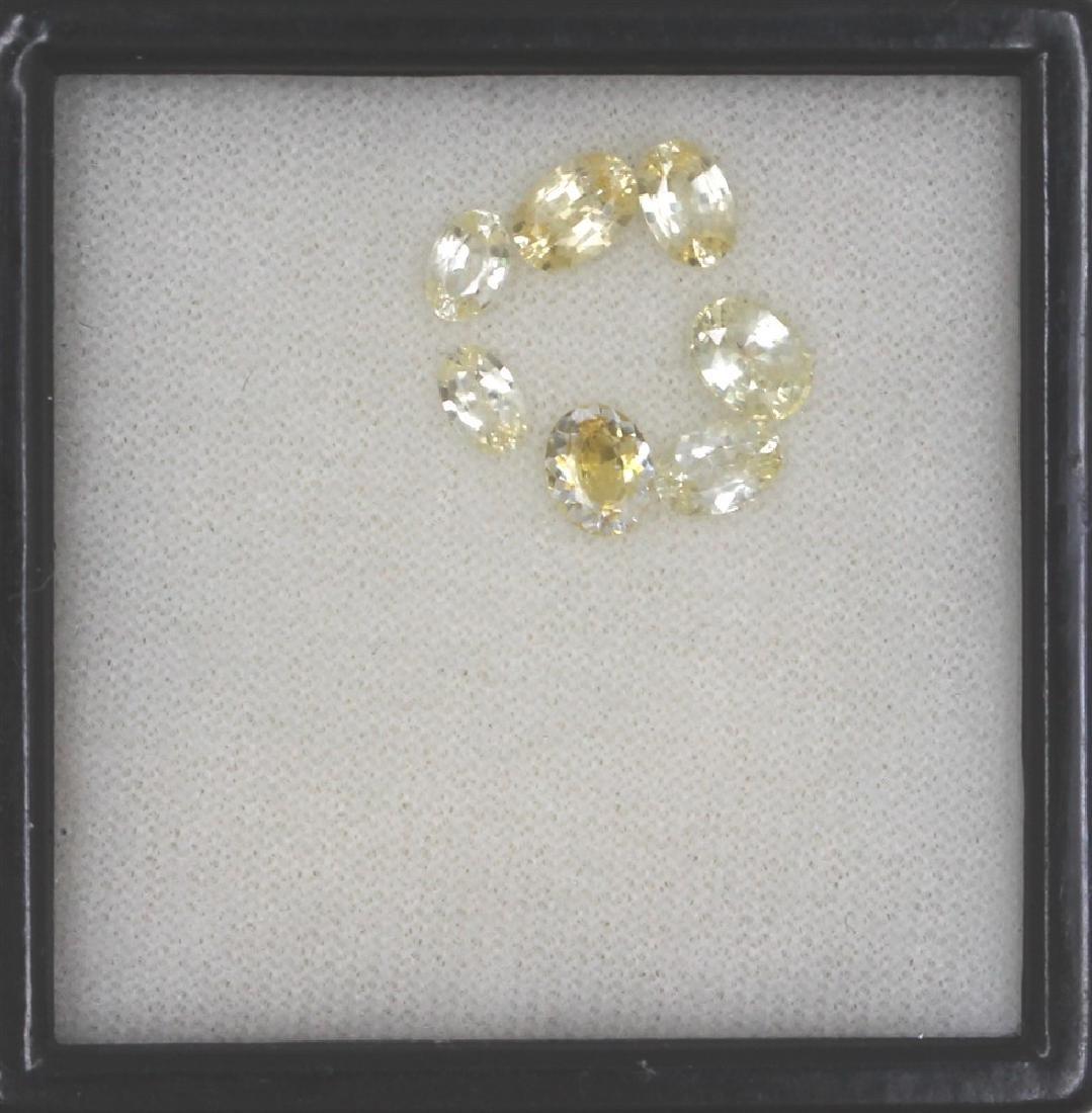 3.32ct Ceylon White Sapphire Oval cut