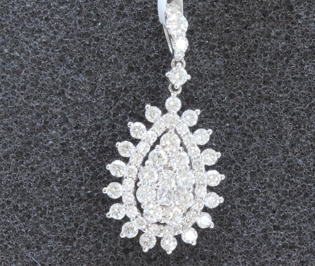 18 K WHITE GOLD DIAMOND