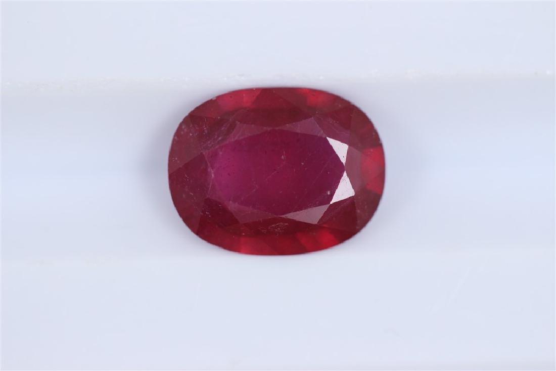 2.03ct Ruby Oval cut