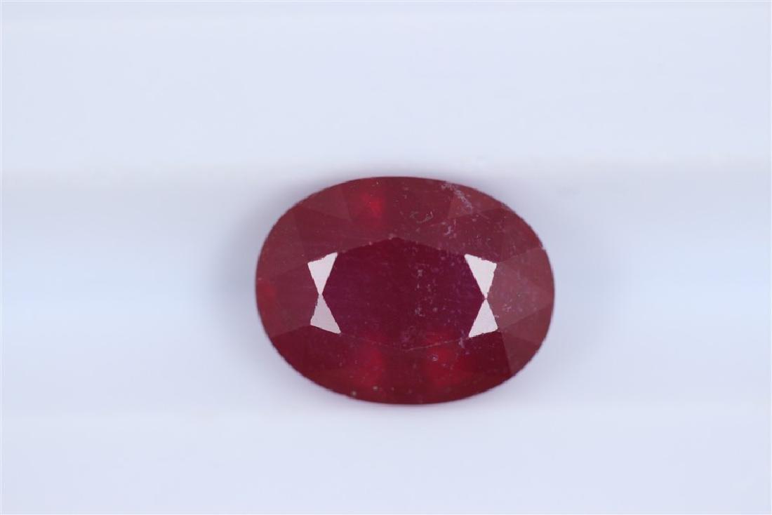 1.88ct Ruby Oval cut