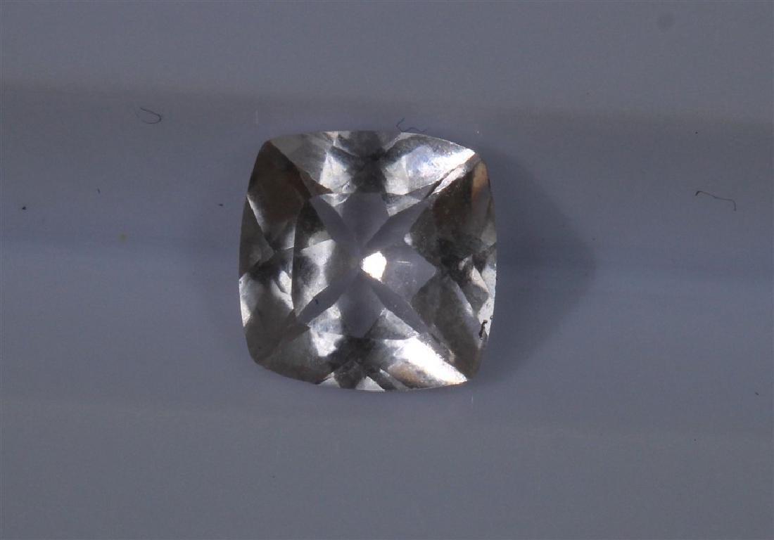 1.06ct Morganite 1pcs Cushion cut