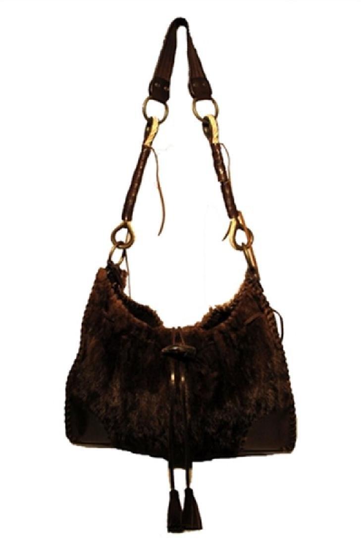 Dolce & Gabbana Mink Shoulder Bag
