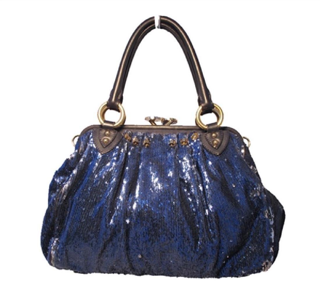 Marc Jacobs New York Rocker Sequin Stam Bag