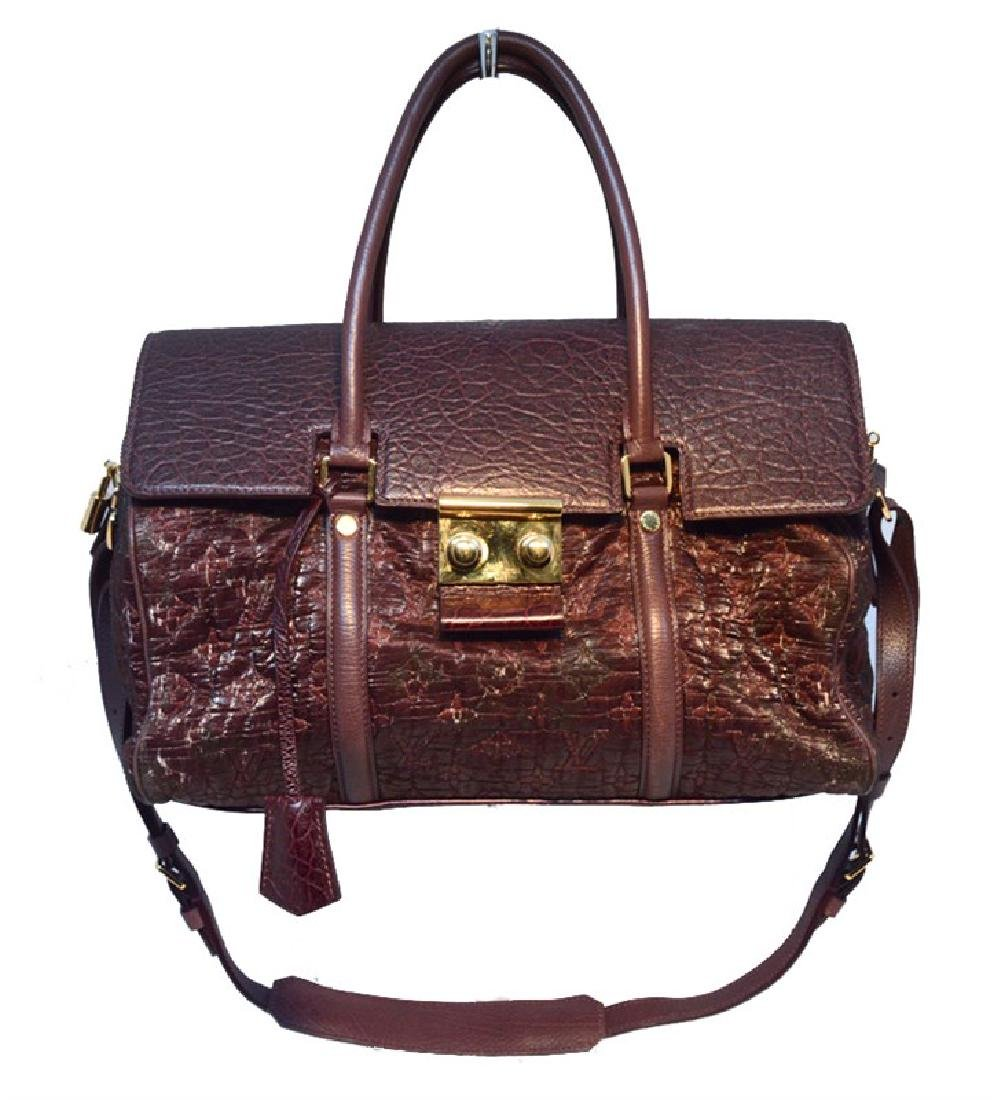 Louis Vuitton Limited Edition Monogram Volupte Bordeaux