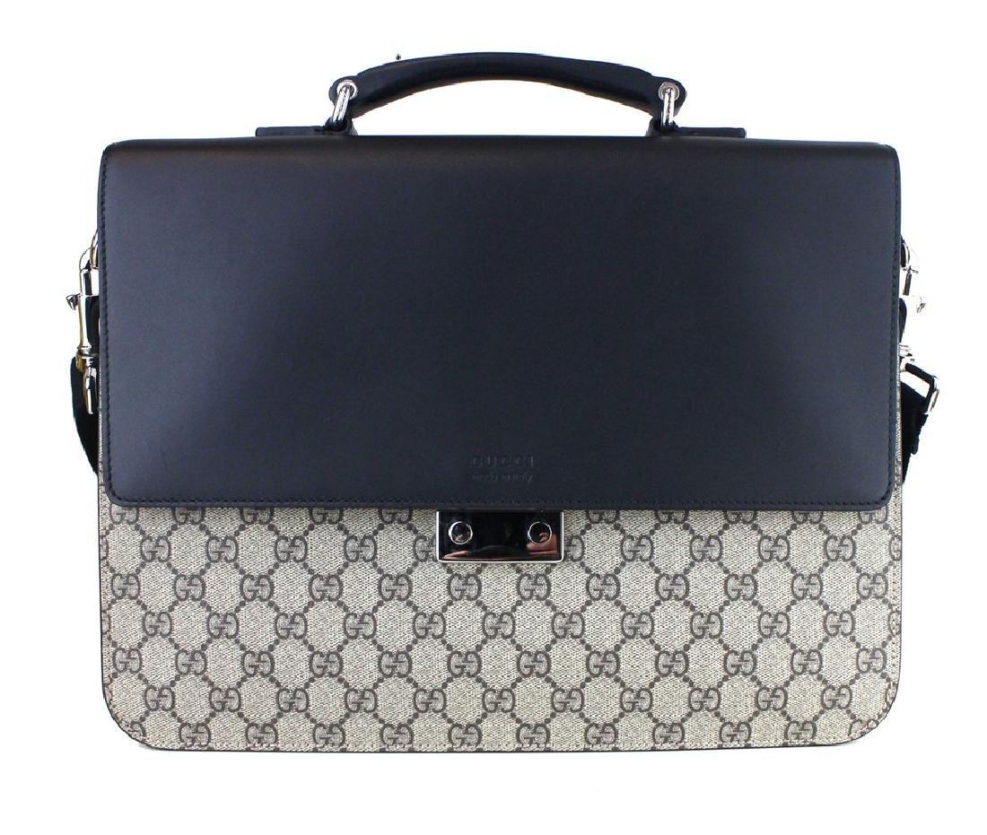 Gucci GG Supreme briefcase - 2