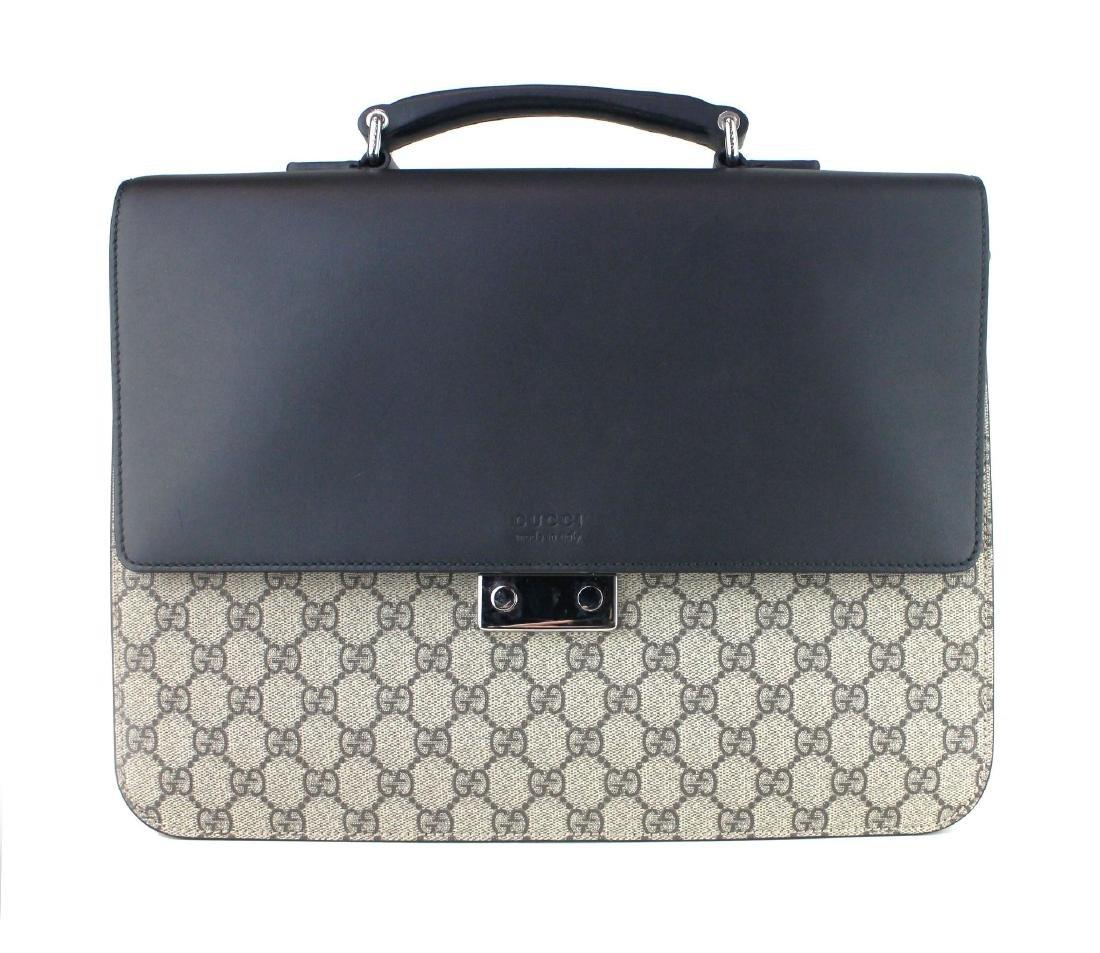 Gucci GG Supreme briefcase - 4