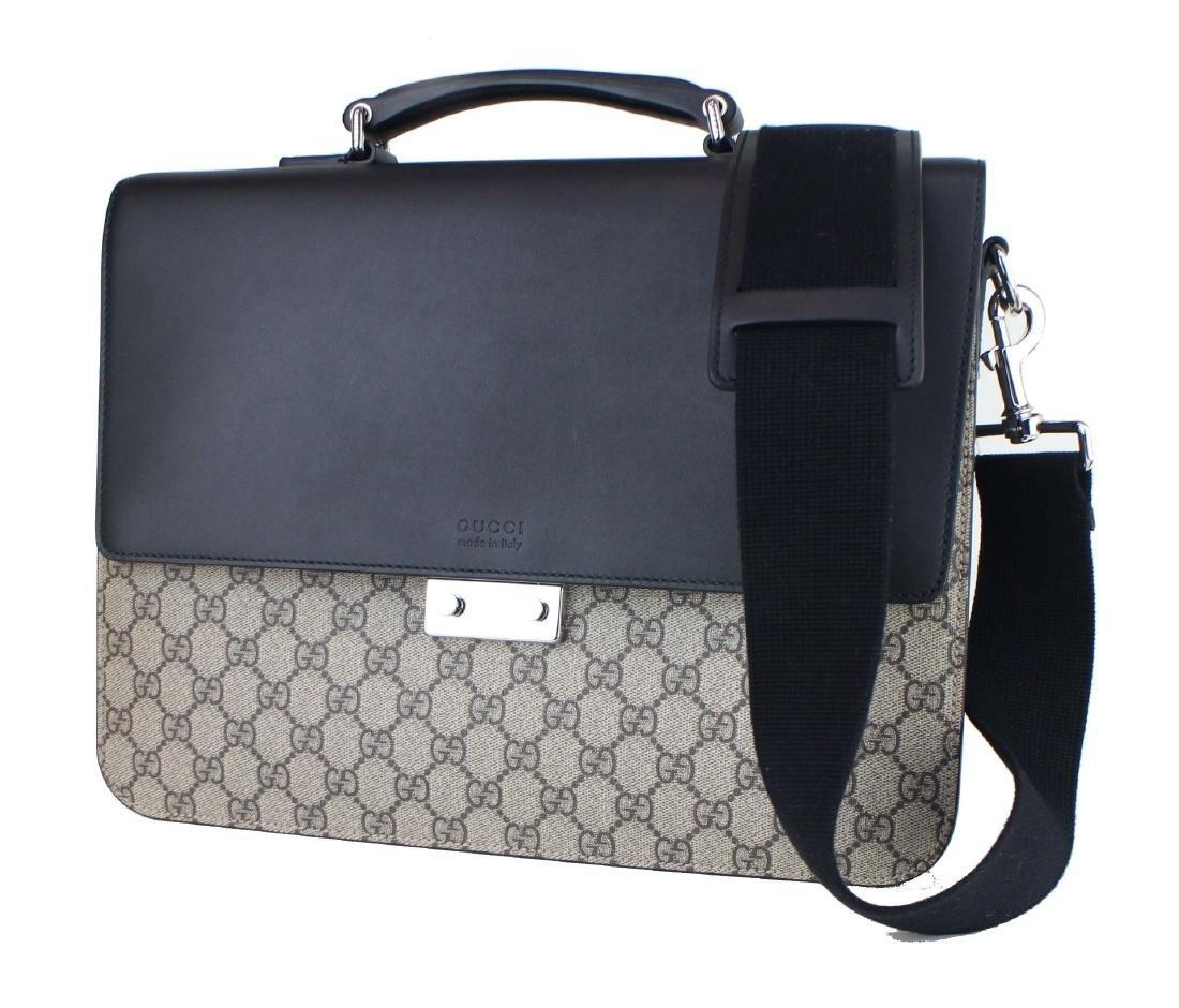 Gucci GG Supreme briefcase - 9