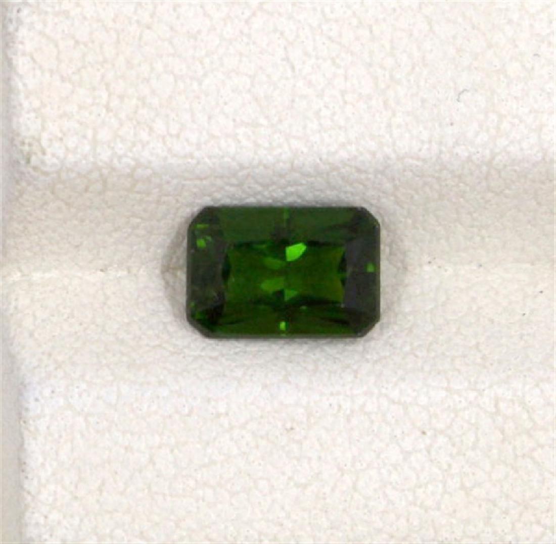 1.44ct Tsavolite emerald cut