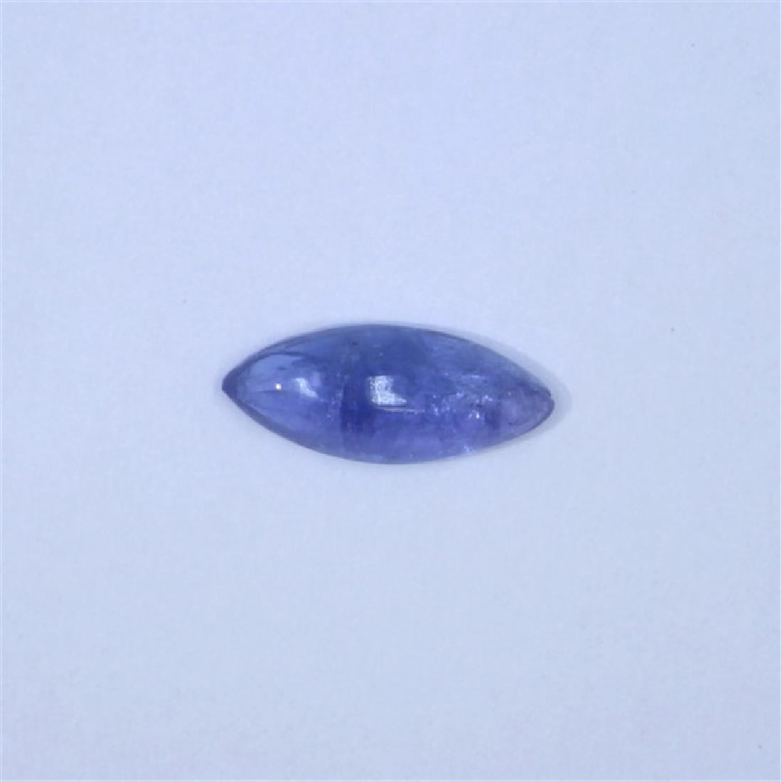 3.23ct Tanzanite cab marquise cut