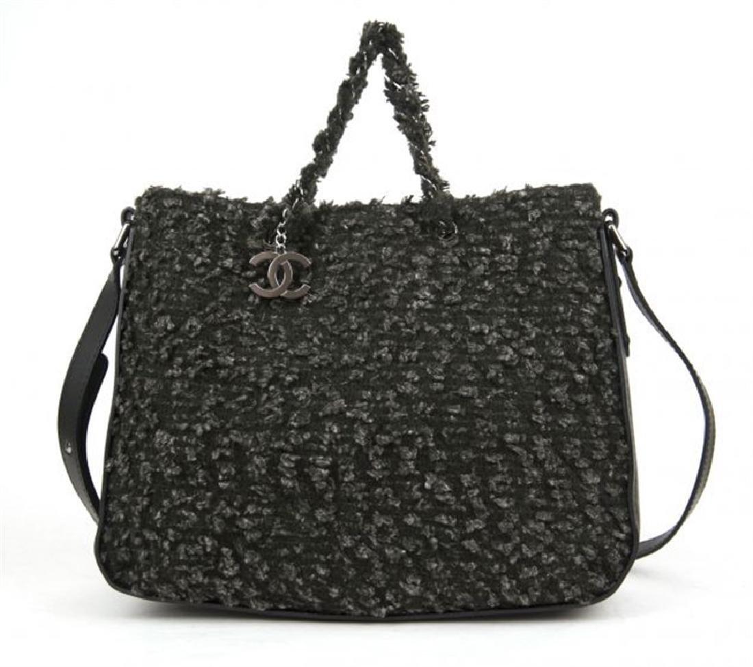 CHANEL FABRIC Crossbody bag
