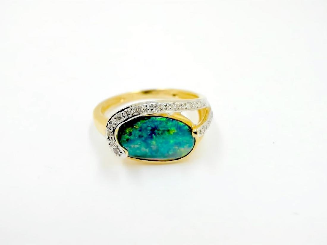 1.53ct Opal 14K YG Ring