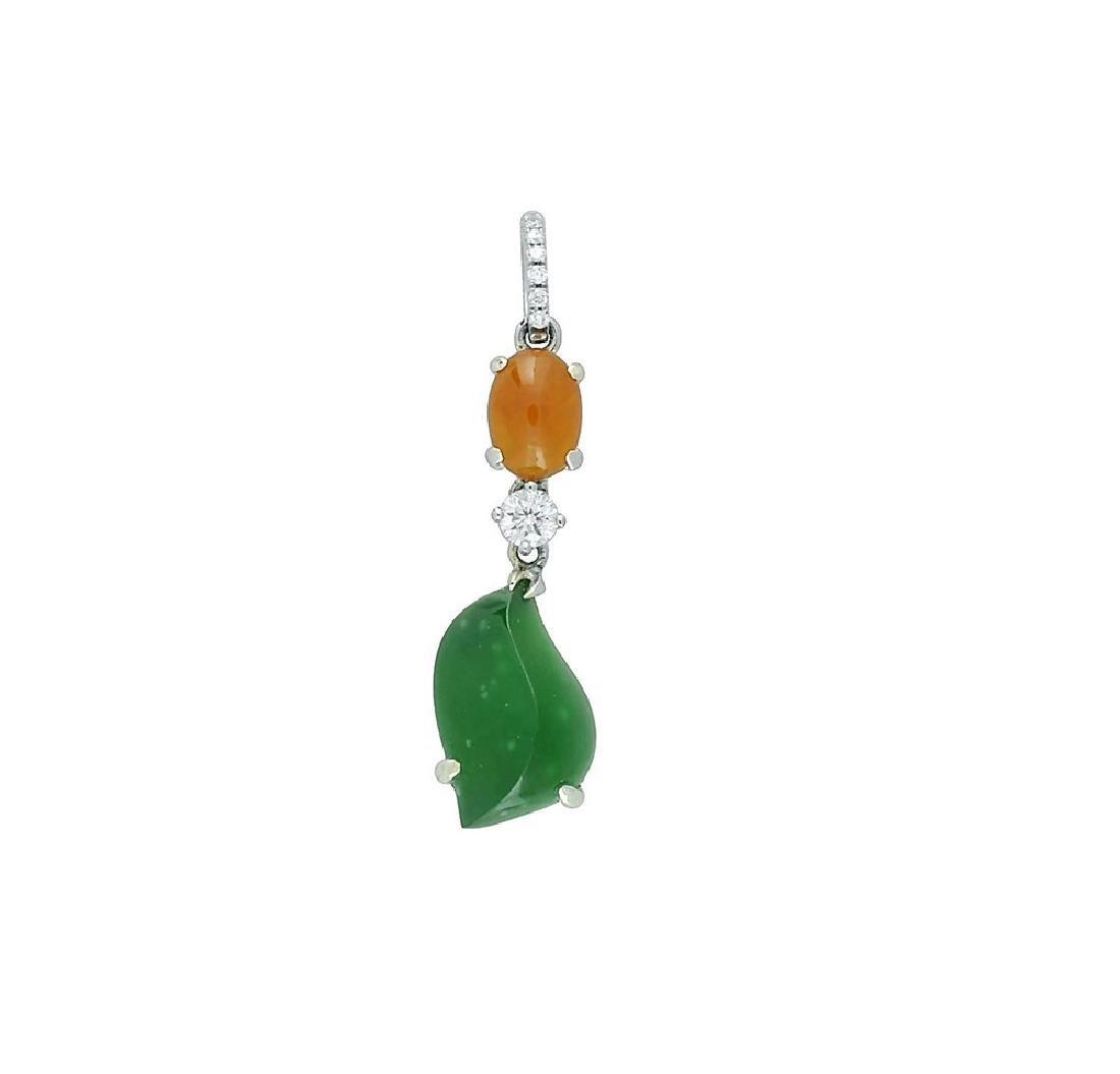 GIA 11.9ct Natural Burma Jadeite Jade Type A