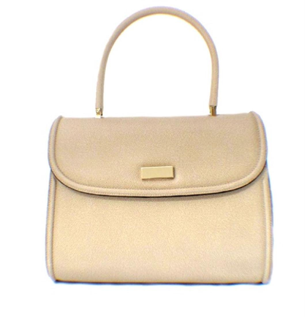 Valextra Beige Leather Handbag