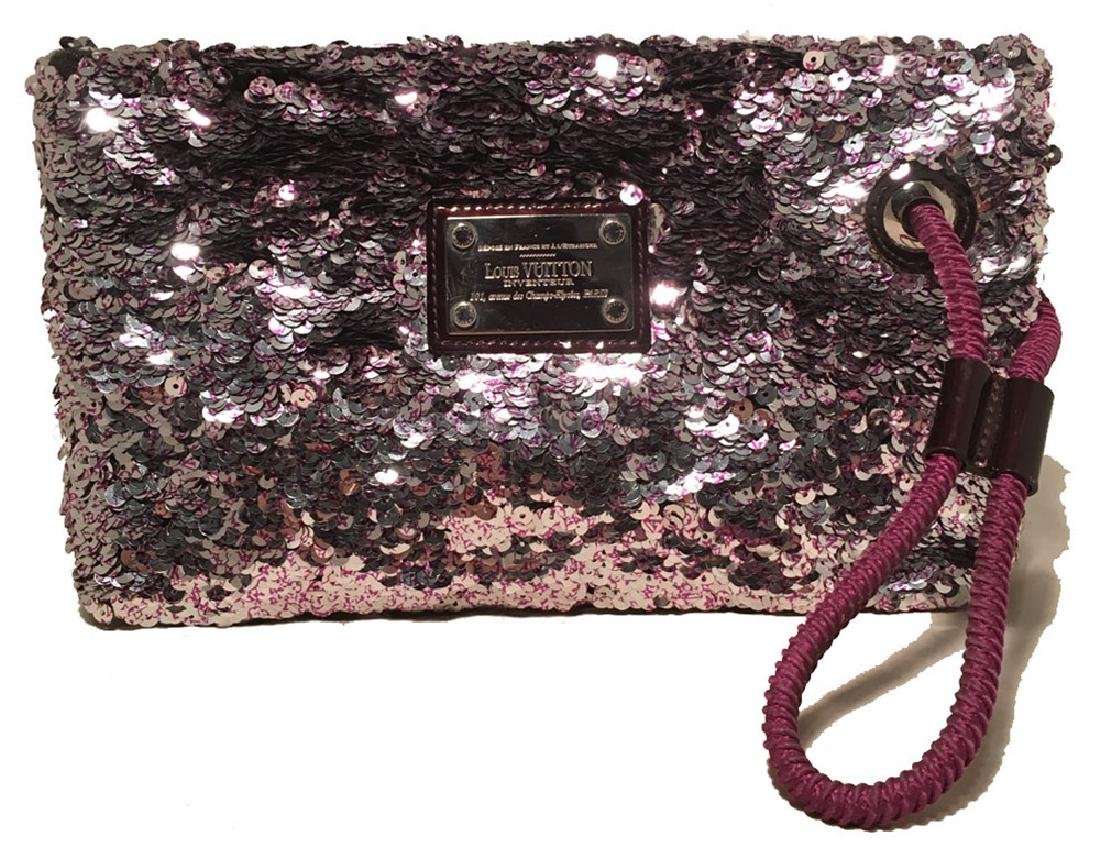Limited Edition Louis Vuitton Violette Sequin Rococo