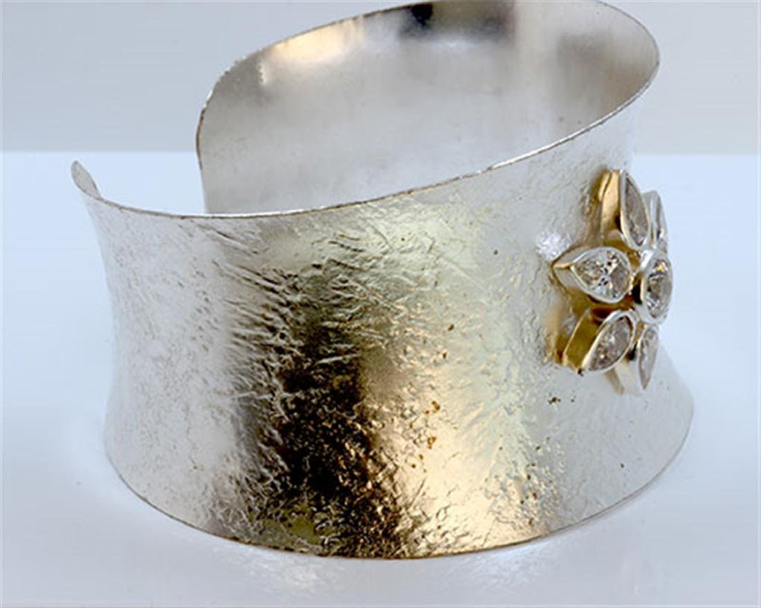 Sterling Silver .925 Cuff Bangle about 50 gram