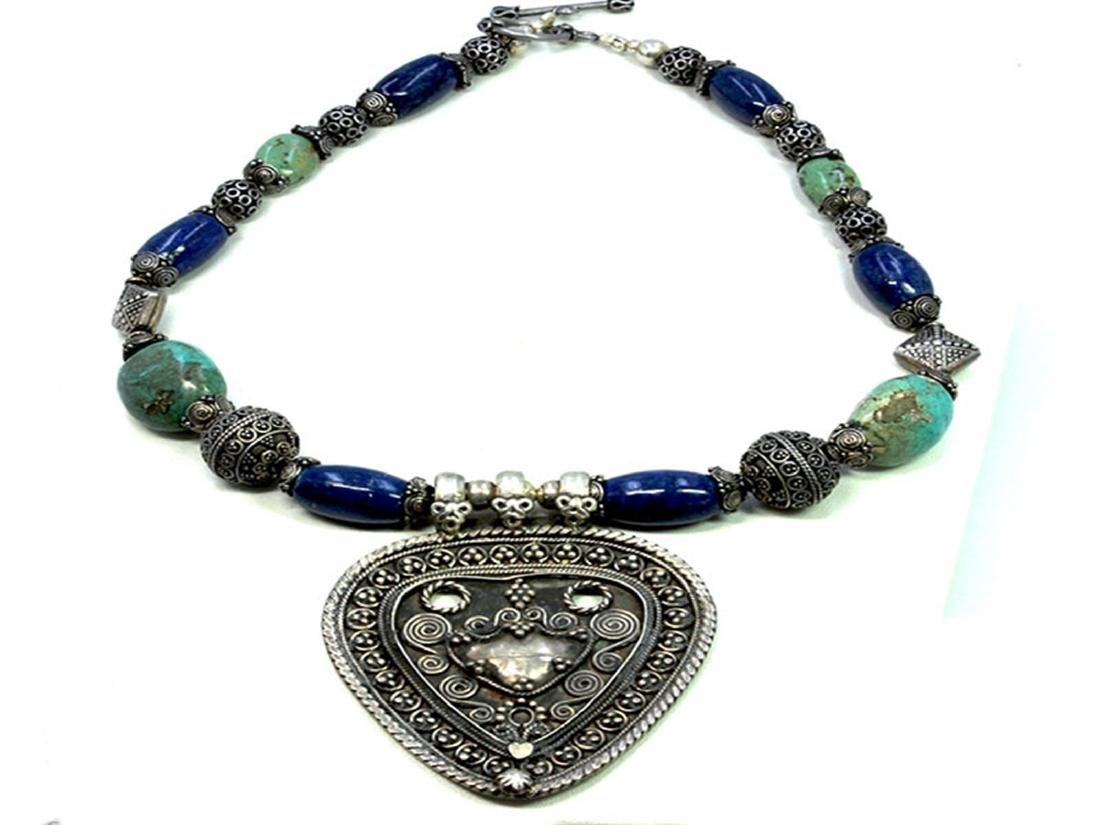 Sterling Silver .925 vintage necklace 120.74gram