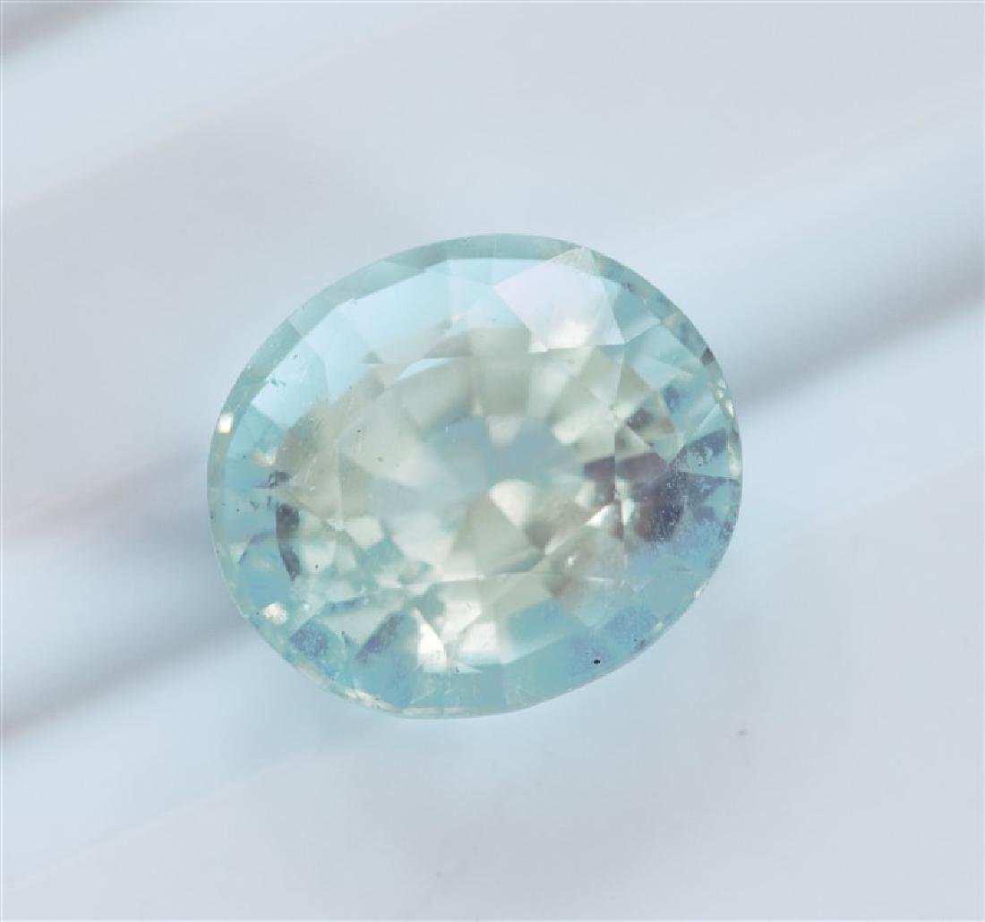 2.48ct Oval Cut Aquamarine