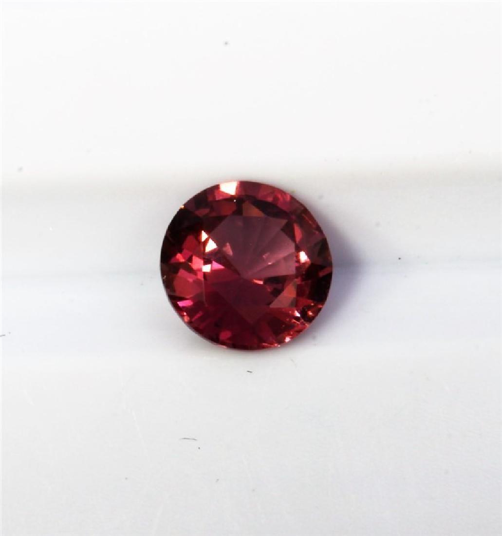 063ct Round Shape Pink Natural Ceylon Sapphire