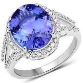499ct Tanzanite 14K White Gold Ring