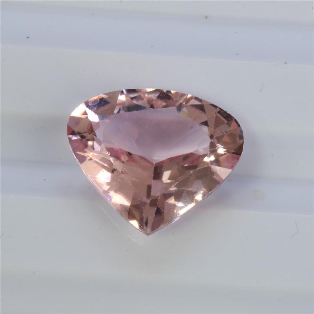 3.70ct Pear Shape Pink Tourmaline