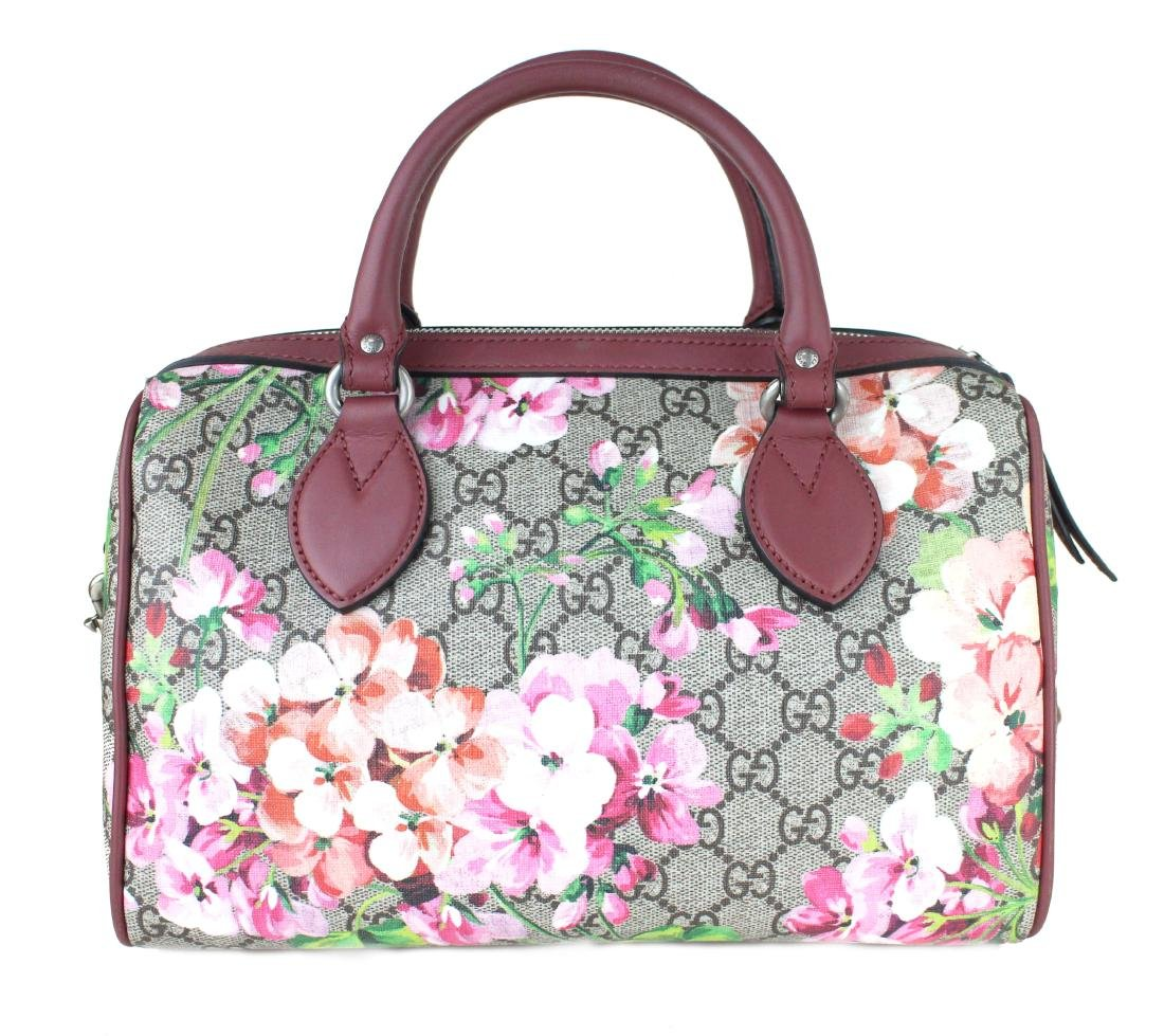 Gucci Blooms small GG top handle bag