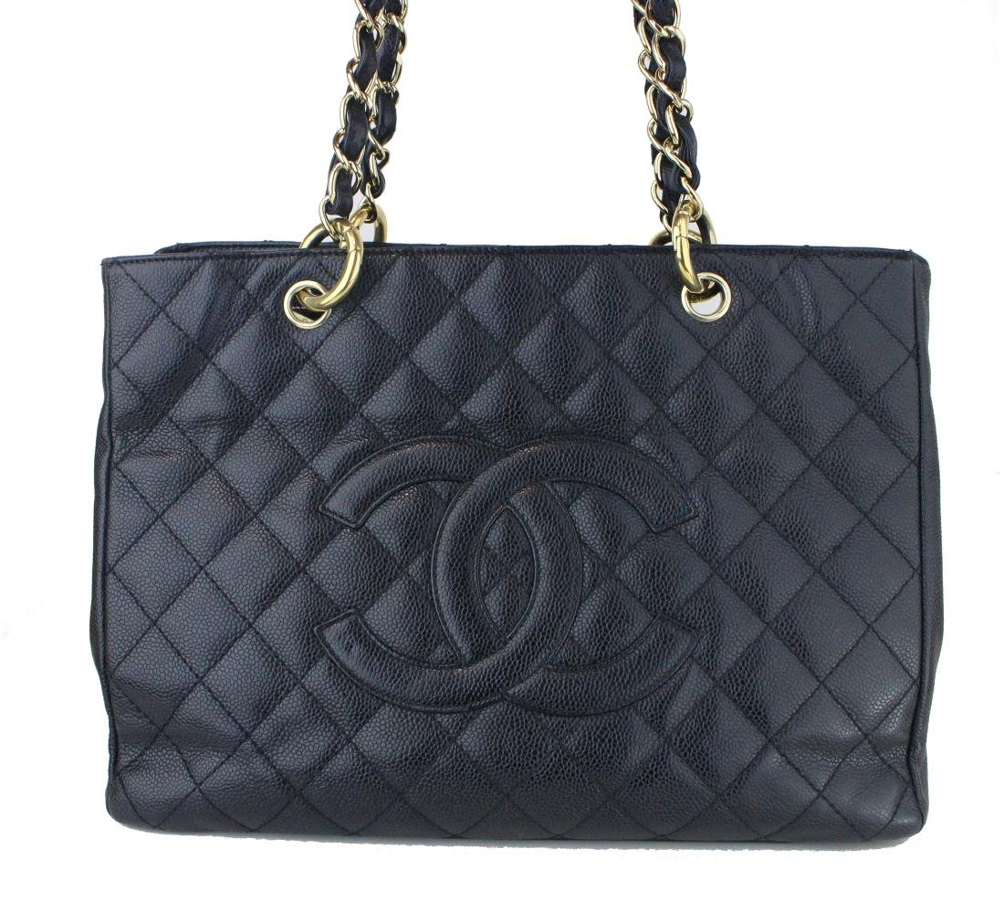 Chanel Caviar Leather GST Shoulder Tote