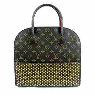 Louis Vuitton x Christian Louboutin Brown Red