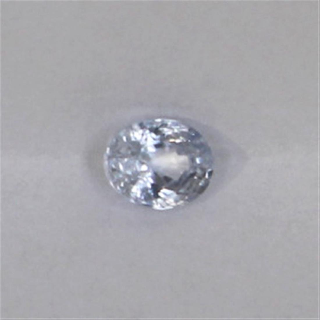 0.46ct Natural ceylon blue Sapphire oval cut