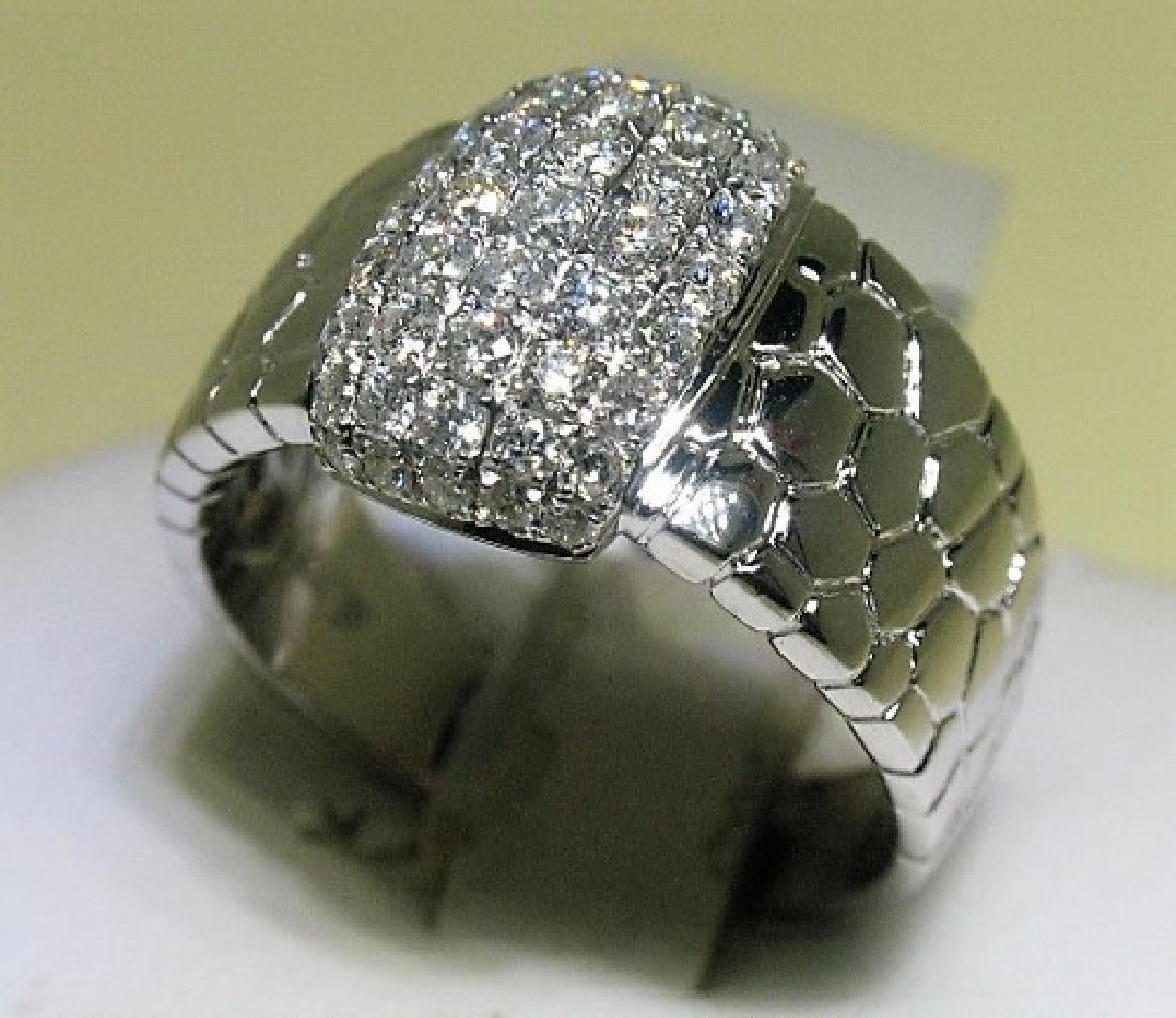 0.80ct Diamond 14K White Gold 6.61gm Ring